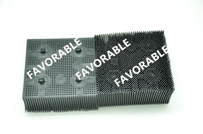 "BRISTLE 1.6"" POLY - ROUND FOOT - Black PP / NYLON For GERBER 92910001"