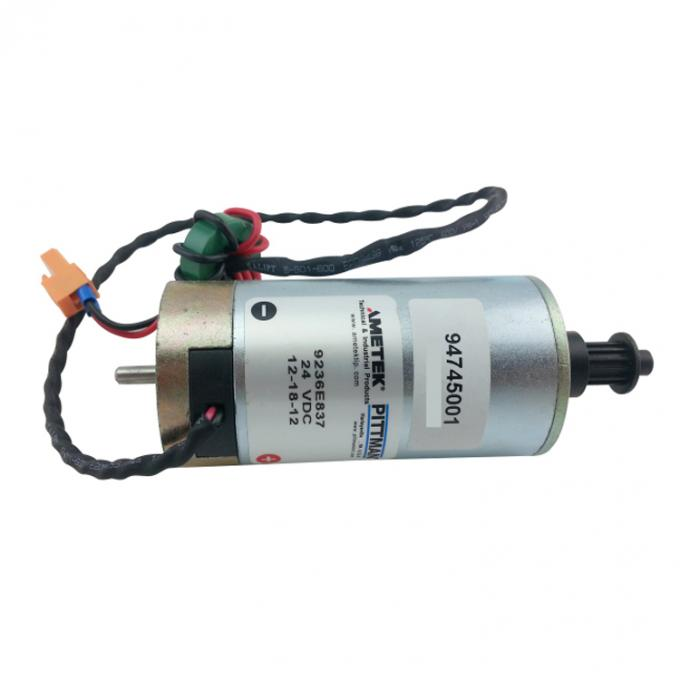 24V DC Servo Motor , Y - AXIS , Ametek Pittman 9236E837 Used For Plotter Machine 94745001