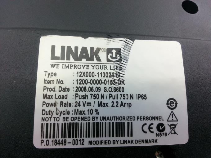 5130-037-0057 Linak Spindle Motor LA12.1-130 Suitable for Spreader XLs50 and XLs125