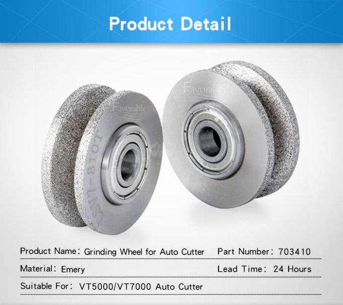 60 Grit 80 Grit Grinding Stone Wheel Sharpener Assy For Textile Cutter Machine