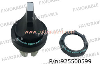 China ABB Switches Cbk-3sk 3 Pos , Black Knob Maintaine For Auto Cutter Gtxl Parts 925500599 supplier