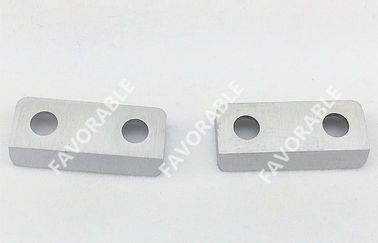 China Auto Spreader Parts Bottom Knife Cemented Carbide For Industry Spreader Machine supplier
