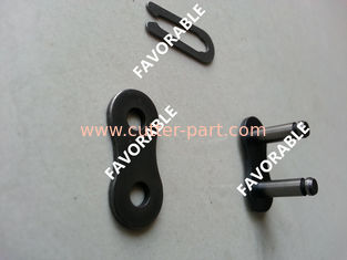 China 1230-020-0002 Gerber Cutting Machine Parts Black Master Link Connecting Link Chain supplier