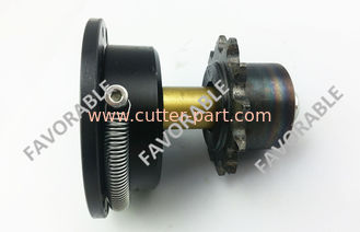 China Chain Tightener Upper Sliding Block Platform Wheel Spindle Motor D C Gearmotor   Spreader supplier