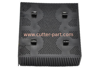 "China Black White Gerber Cutter Parts Nylon Bristles 92911001 1.6""  Square Foot supplier"