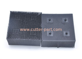 "China 060548 Black Nylon Bristles , 1.6""  PP Bristle Black Block For Bullmer Cuter Machine supplier"