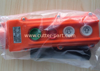 China COB 61A Cutting Machine Parts Push Button Switch 41-15351 AC250V 5A Rain Proof supplier