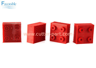 China 130297 Propack Thin Nylon Bristle Vector 5000 Red Round Foot Block supplier