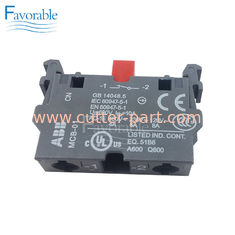 China Switch Abb#MCB01 , NC Contact Block For Auto Cutter GTXL 925500594 Machine supplier