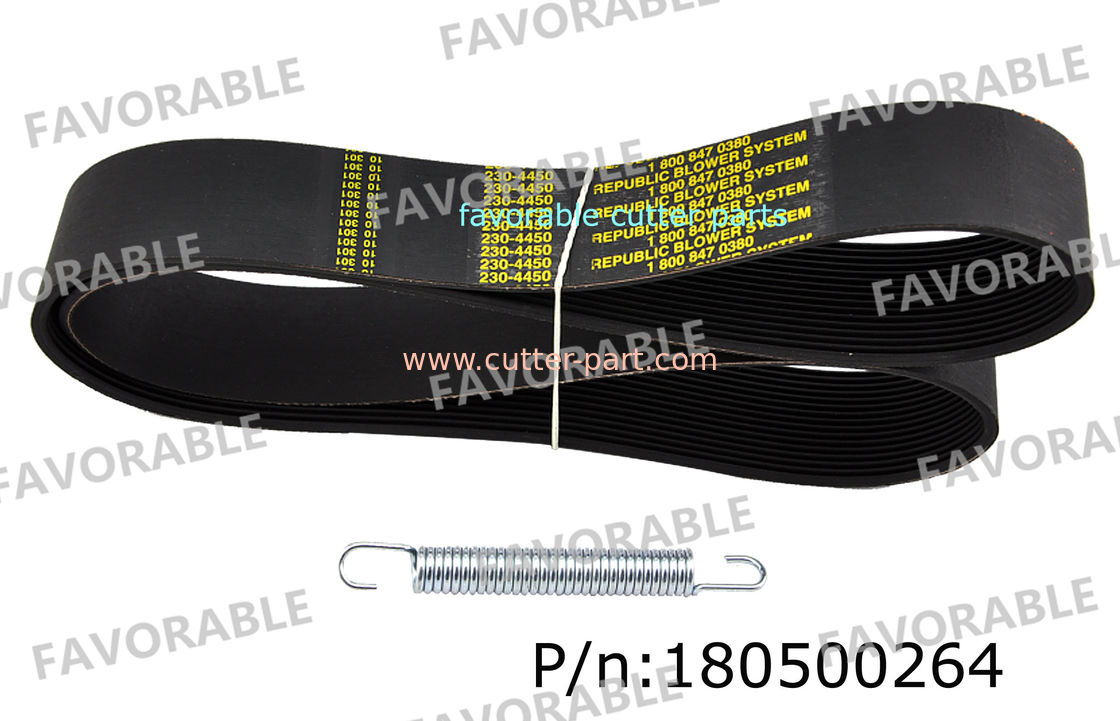 113cm , 3.8cm Paxton Motor Belt Especially Suitable For Gerber ...
