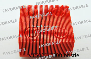 China Red Nylon Bristle Round Foot Especially Suitable For Lectra Cutter 702583 / Cutting Machine Parts distributor
