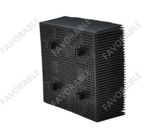 "China High Performance 1.6"" Nylon Bristles Square Foot  Especially Suitable For Gerber Cutter Machine distributor"