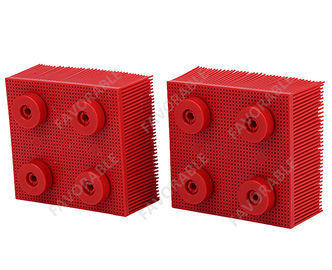 China Red Nylon Bristles Round Foot  Suitable For VT5000  VT7000 Auto Cutter distributor