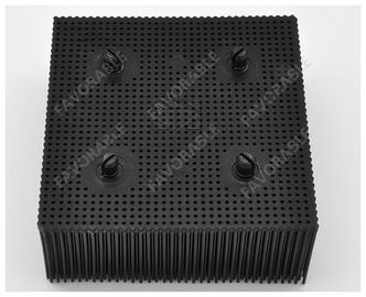 China Black Rectangular PP Nylon Bristles With Round Foot Suitable For Bullmer Cutter Machine factory