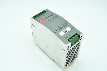 China 311175 Mean Well Power Supply MW DR-75-24 24VDC 3.2A 75W for M55 MH MH8 factory