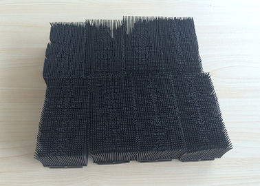 China Black Color Nylon Bristle Block Brush Cutter Parts , Yin Cutter Assembly factory