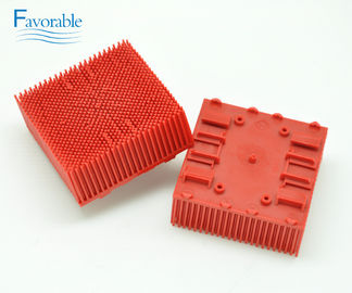 China 130298 Red Nylon Bristles block Bristle Brush Suitable For Auto Cutter VT2500 factory