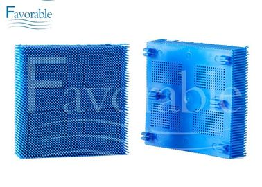 China Blue Nylon Bristles Blocks Square Foot For GT3250 96386003 101*101*26mm factory
