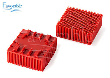 China 130298 703493 Red Nylon Bristle Blocks Suitable For Vector 2500 Cutting Machine factory
