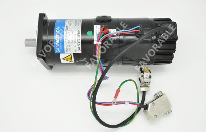 Sanyo Dc Servo Motor C Axis Motor X Axis Step Motor Used For Apparel Cutter Machine