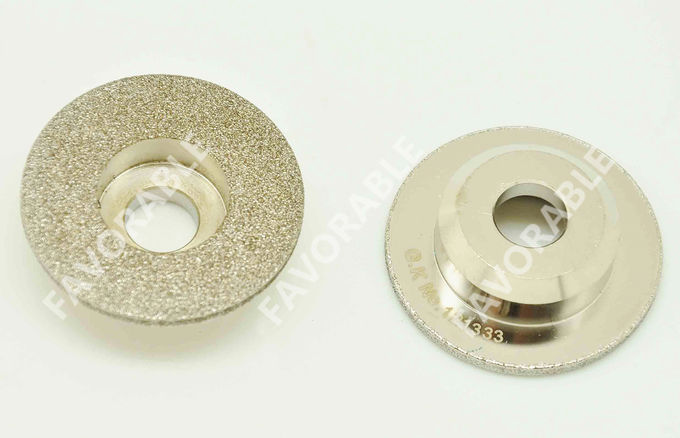 PGM Cutter Machine Grinding Wheel , Auto Cutting Machine Carborundum Grind Stone Wheel
