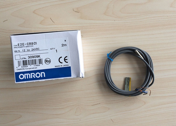 Omron Magnetic Proximity Switch 10 To 24 Vdc E2e-cr8c1 For Yin Auto Machine