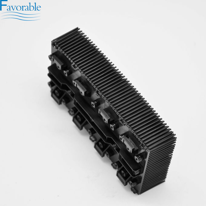 131241 Small Black Nylon Bristle Block Used For FX Q25 Cutter Machine